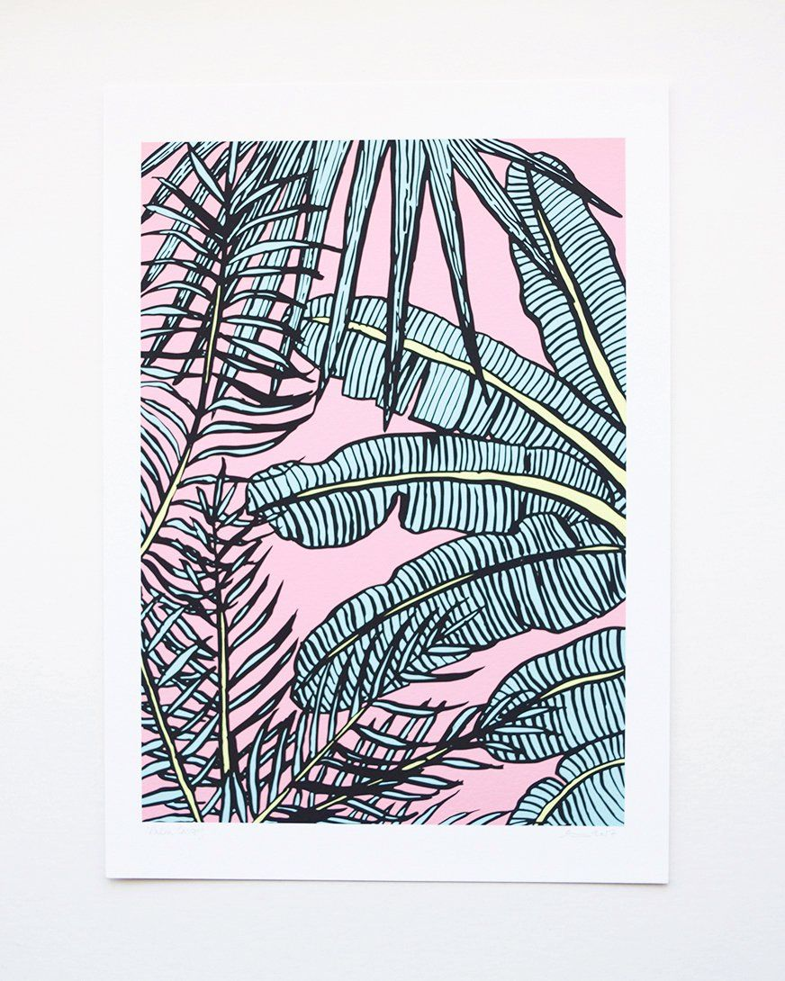 Photo of Palm Tree Canopy | Art Print