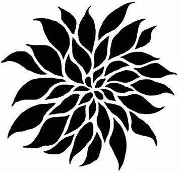 Tutorial Stencil Casero Plantilla De Damasco Estarcidos De Flores Plantas En Pared