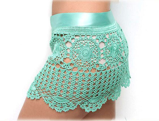 Crocheted beach skirts  made to order Lace Skirts by dosiak, $80.00