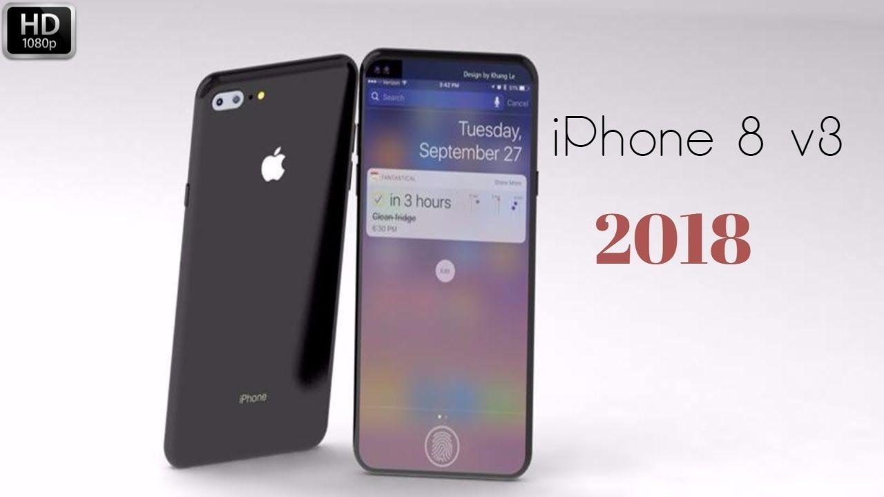 iPhone 8 v3 (2018) -with 3D touch, Ultrasonic fingerprint sensor