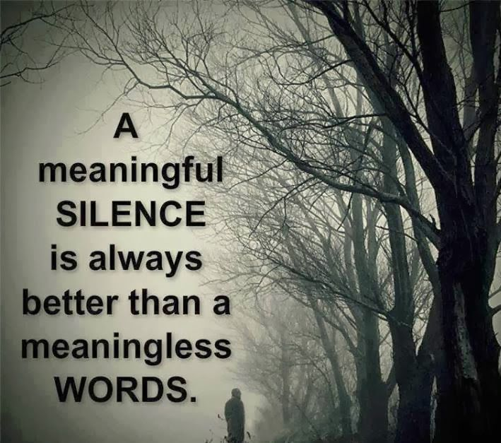 The Power Of Silence Inspirationalquotes Quotes Silence