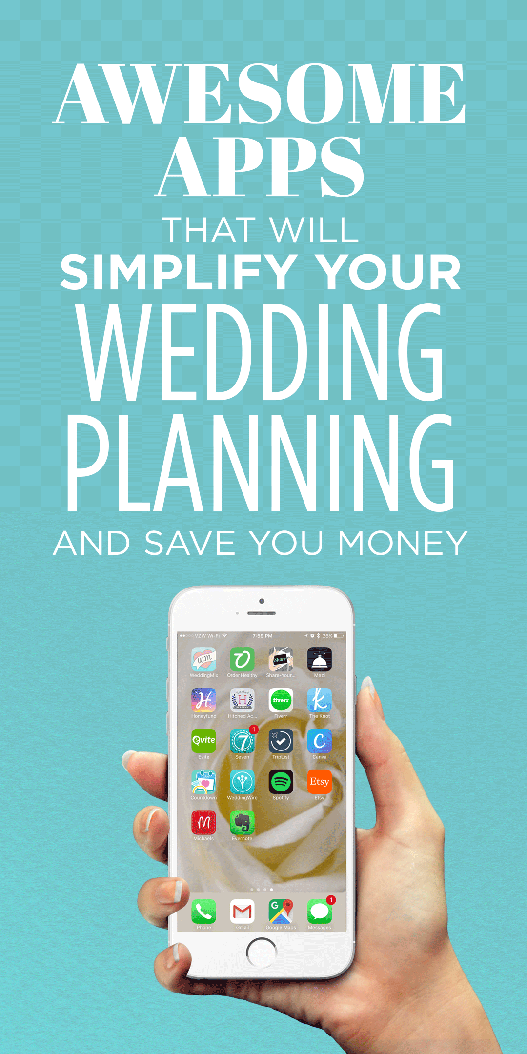 Awesome Wedding Apps You Should Know About Creative wedding