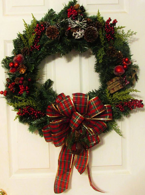 Clearance Christmas Wreath Winter Wreath Christmas Decoration