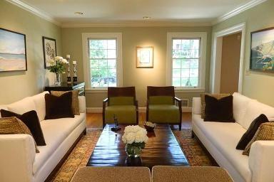 3587 Bayard Dr Cincinnati, OH 45208 Contemporary Home Decor With Green Walls