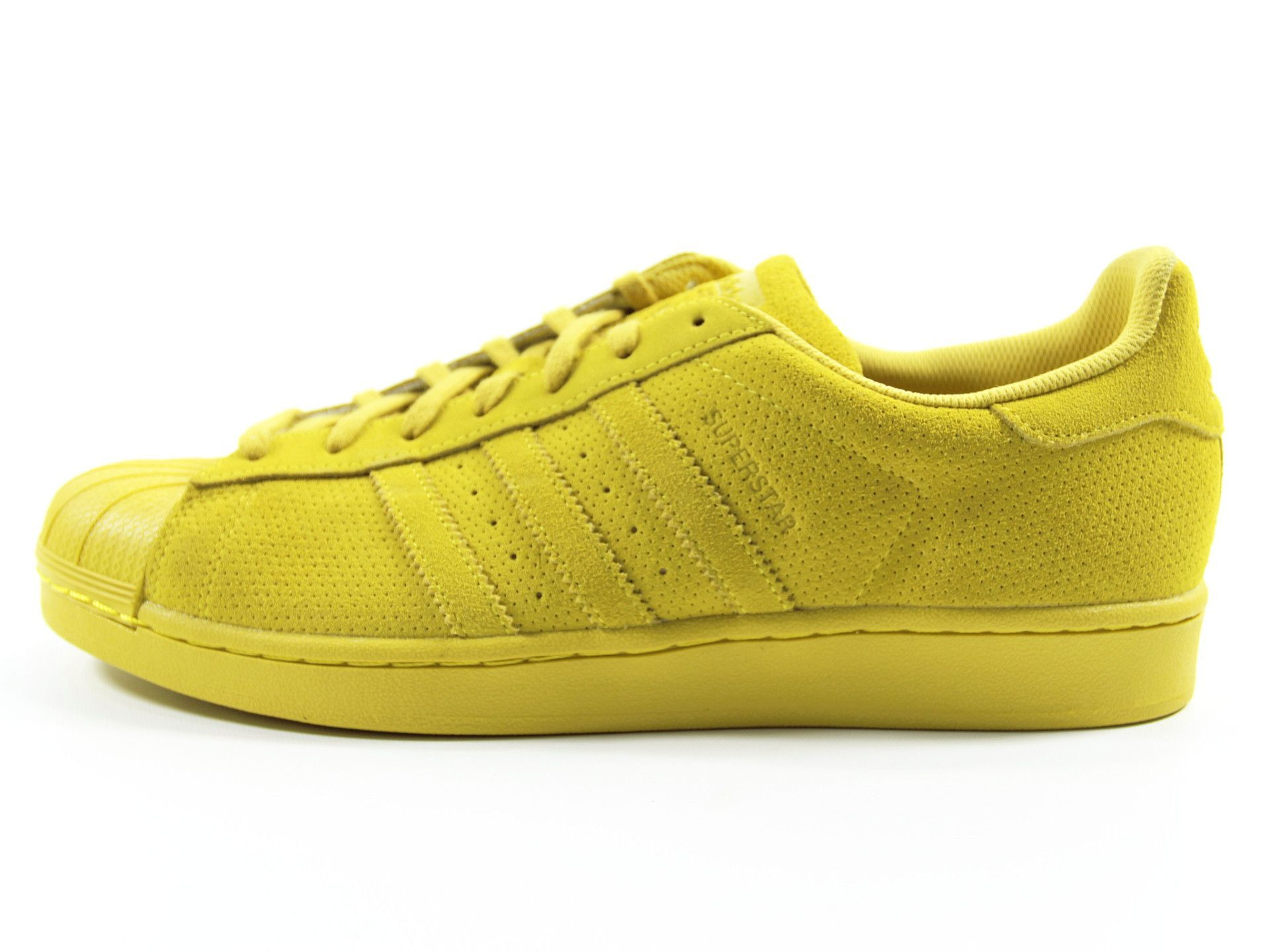 best service ab427 b6f72 Adidas Originals Superstar RT Monocrome Shell Toe Suede Trainers Size 13 ( Yellow)