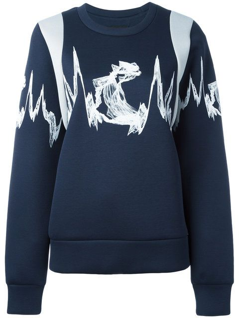 MCM Embroidered Knitted Sweater. #mcm #cloth #sweater
