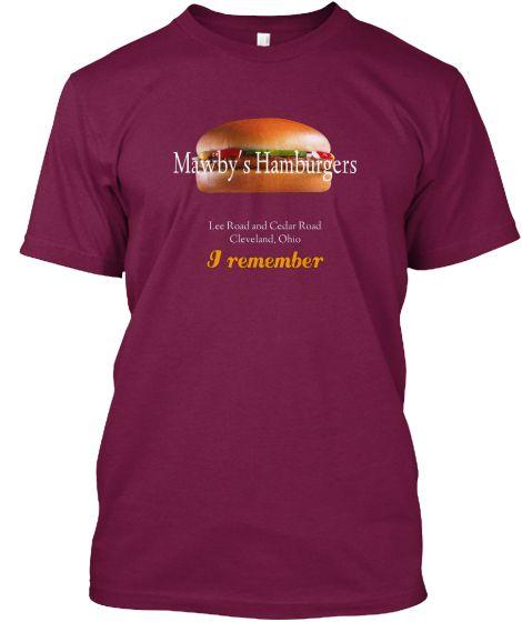 Mawby's Hamburgers (I Remember)