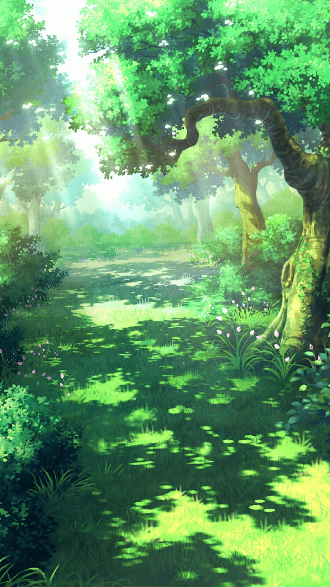 Background Animasi Hutan : background, animasi, hutan, Animasi, Scenery, Wallpaper,, Anime, Scenery,, Fantasy, Landscape
