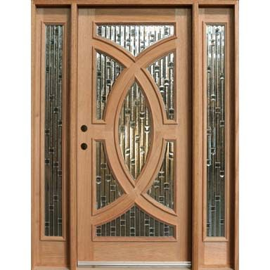 Entrance doors front entry doors exterior doors wood - Entrance door designs wooden ...