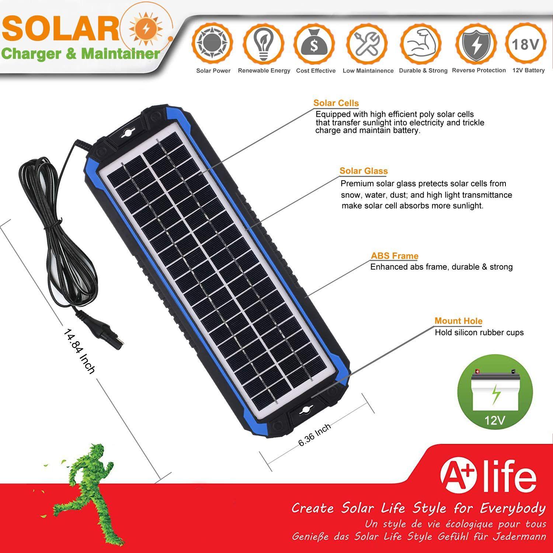 Suner Power 12v Solar Car Battery Charger Solar Car Car Battery Charger Battery Charger