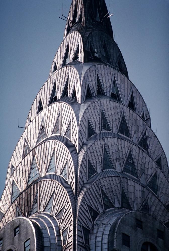 iconic building chrysler building detailed iconic photos