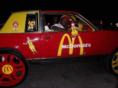 Most pimped out car would you like fries with that decked out most pimped out car would you like fries with that voltagebd Gallery