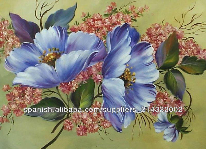 Imagenes de ramas y flores para decorar marcos para for Cuadros al oleo para decorar salones