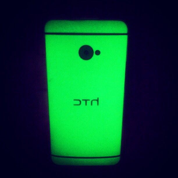 Glow in Dark Green Slickwraps for the HTC One