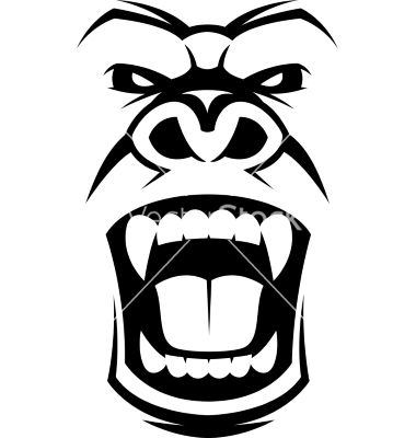 angry gorilla logo. Black Bedroom Furniture Sets. Home Design Ideas
