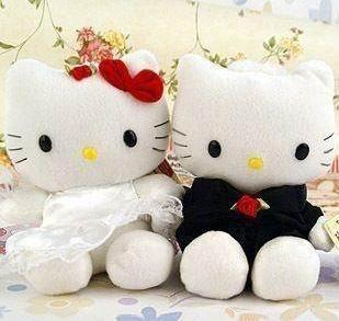 Hello Kitty Husband and Wife