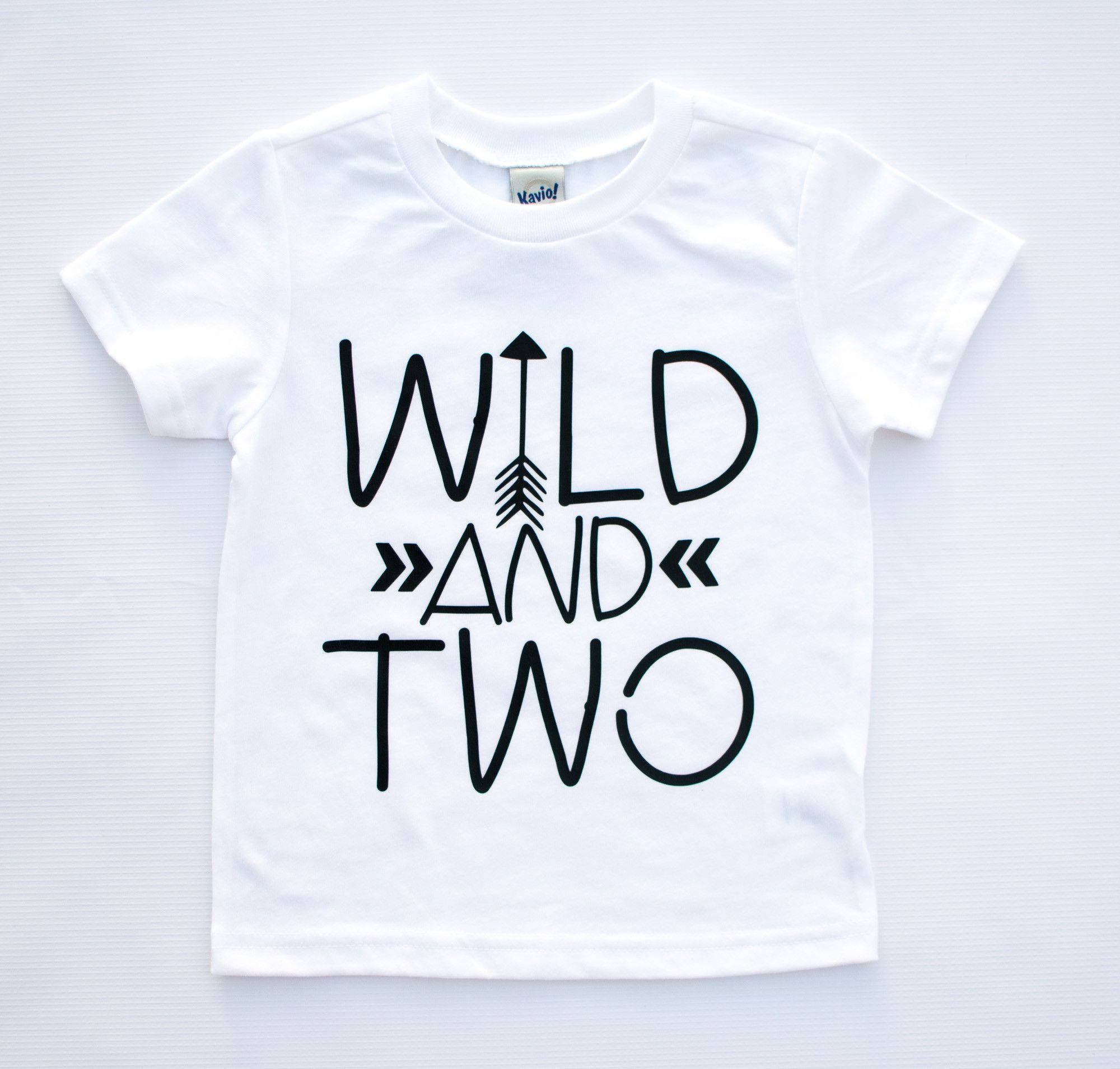 Our Wild And Two Tee Is The Perfect For Your Year Old