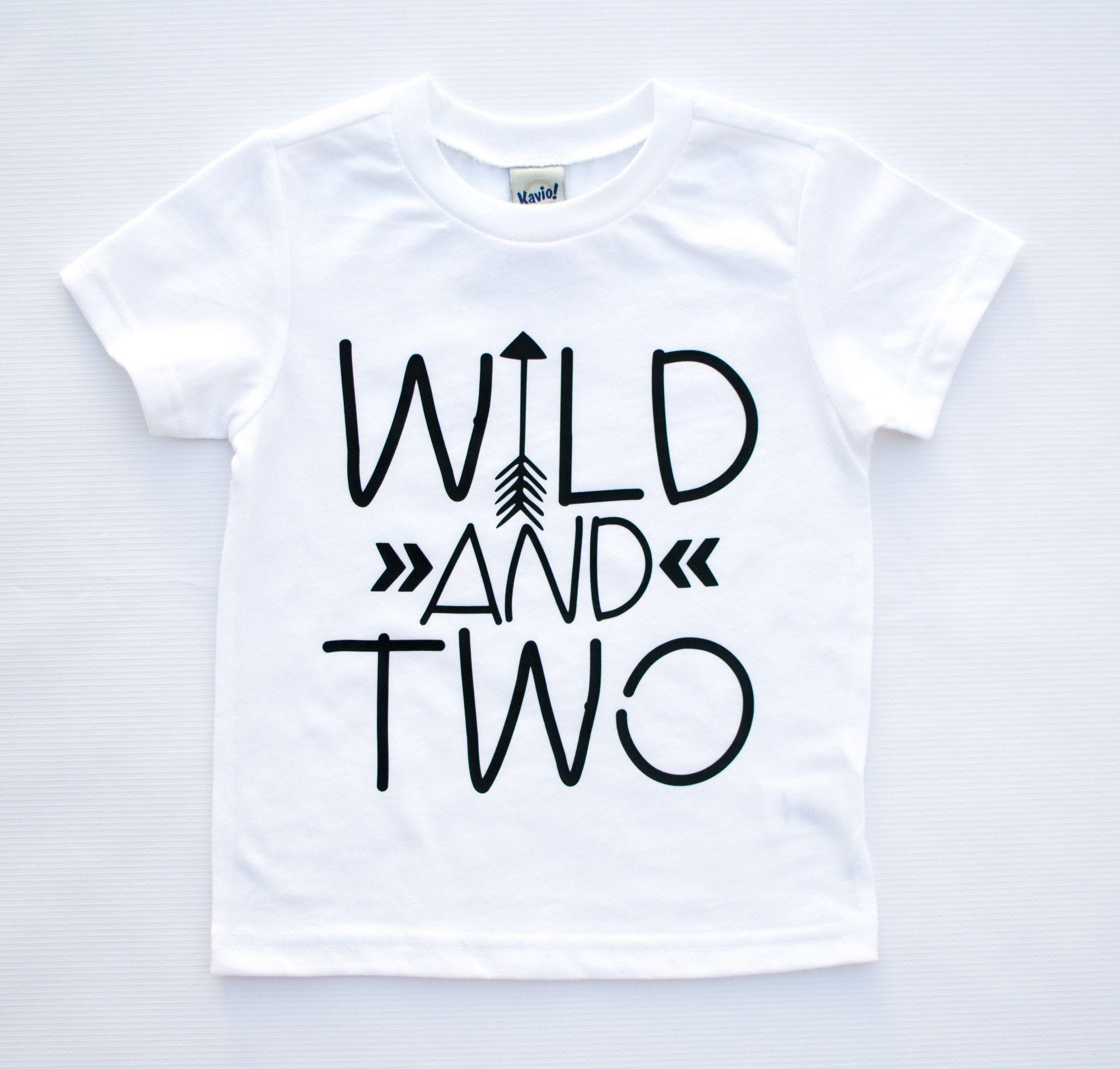 3e6f8909 Wild and Two | Saurus | 2nd birthday shirt, 2nd birthday, Birthday ...