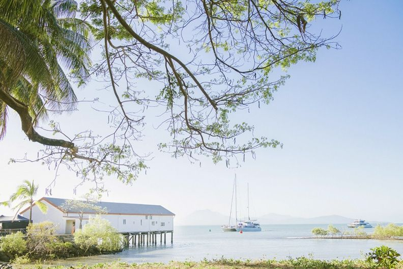 The Sugar Wharf Port Douglas Wedding Lounge