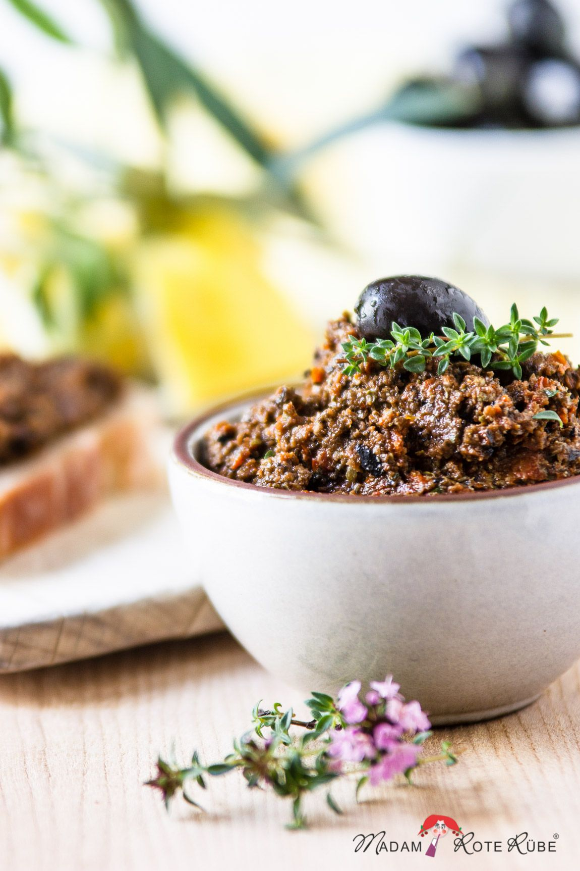 Photo of Provencal tomato tapenade – French enjoyment meets olives & tomatoes