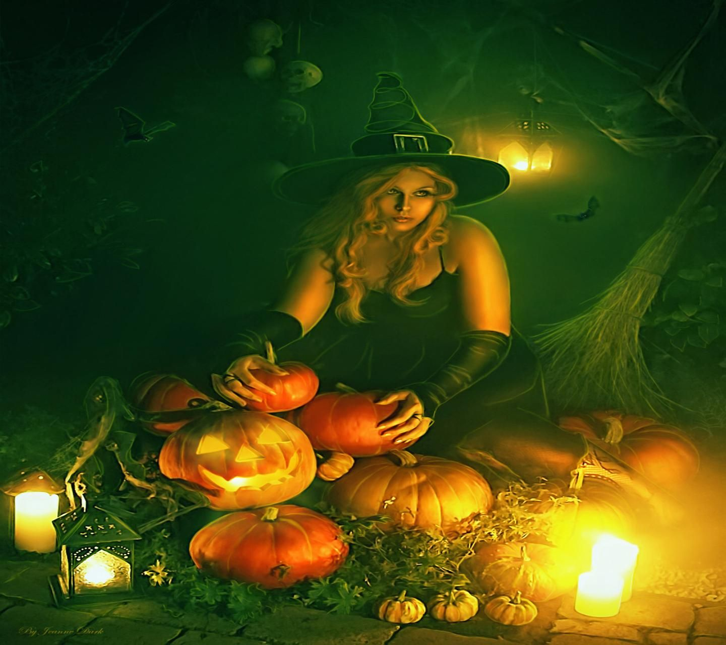 Download Halloween Witch Wallpaper By Venus 2c Free On Zedge Now Browse Millions Of Popular Halloween Wallpa Halloween Digital Art Witch Wallpaper Witch