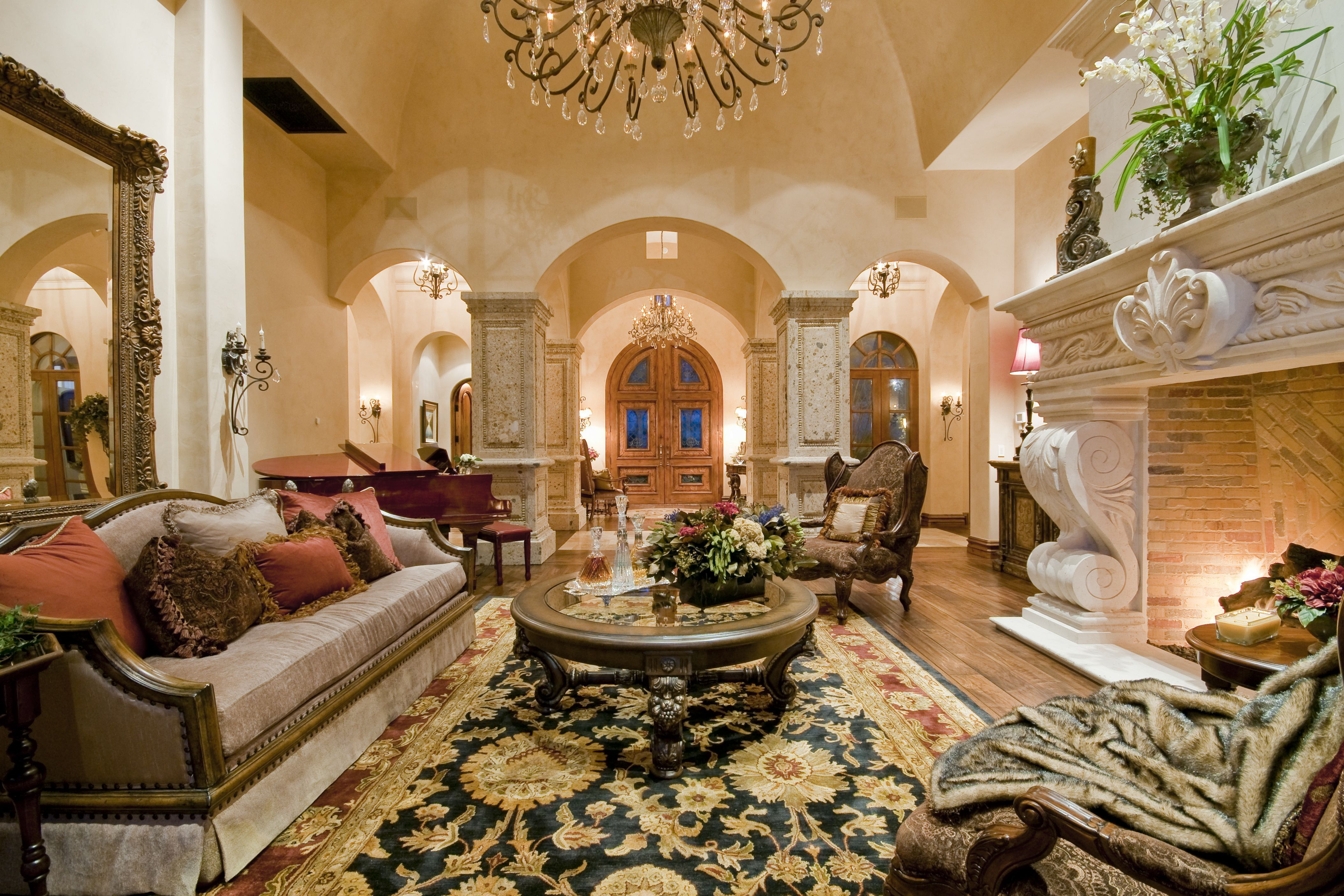 46 Attractive Traditional Living Room Designs Ideas In Italian