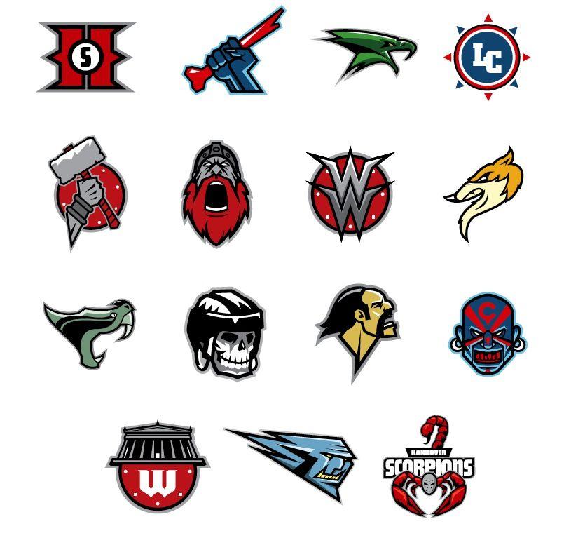 My Sports Logos By Gynemeth78 On Deviantart Logo Creative Design Sport Sports Logo Sports Team Logos Sports Logo Inspiration