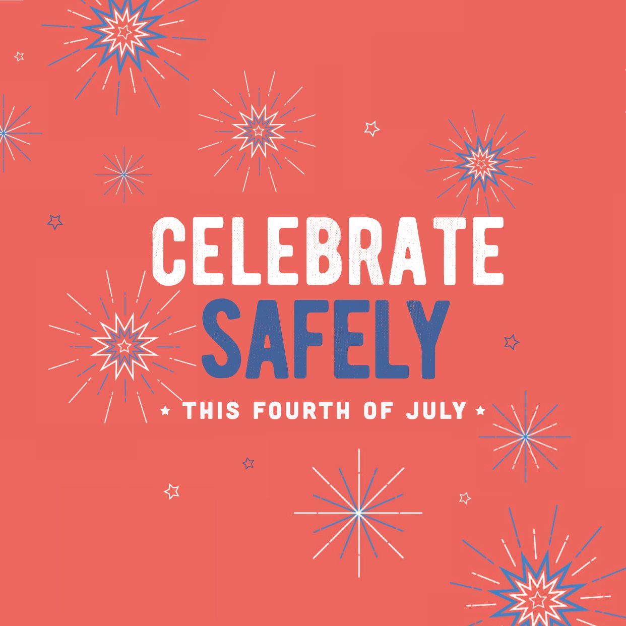 WE WISH ALL OUR PATIENTS a safe and fun Independence Day