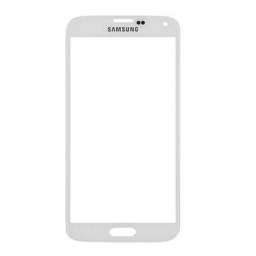 WHITE Outer Screen Glass Digitizer Cover Samsung Galaxy S5 i9600+ADHESIVE+TOOLS #UnbrandedGeneric