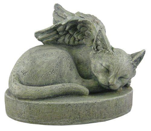 Sympathy Cat Cat Angel Pet Memorial Stone 2015 Amazon 640 x 480