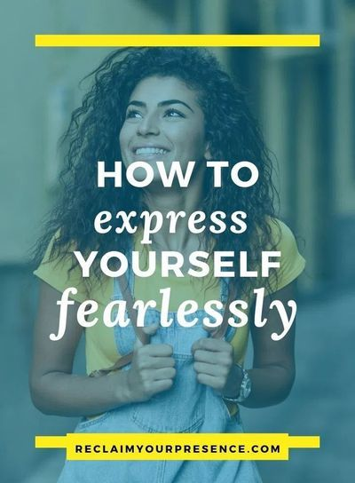 Do you want to learn how to be fearless? Do you wish you could unleash yourself and be authentically you? This article gives you advice on how to build your self confidence, have courage, and get out of your comfort zone so you can show up as your best self. Click through to read the full article. #liveyourlife #beyourself #unleashcreativity #confidenceboost #liveinthemoment