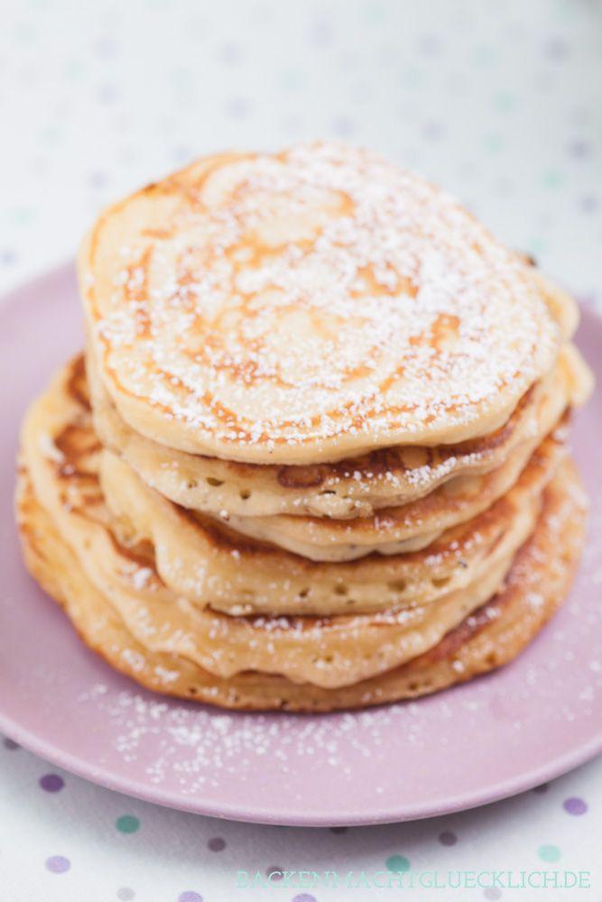 pancakes amerikanische pfannkuchen rezept kochen pinterest backen pfannkuchen und kuchen. Black Bedroom Furniture Sets. Home Design Ideas