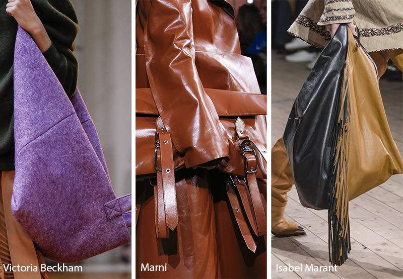 Fall Winter 2018 2019 Handbag Trends Large Oversized Bags Purses