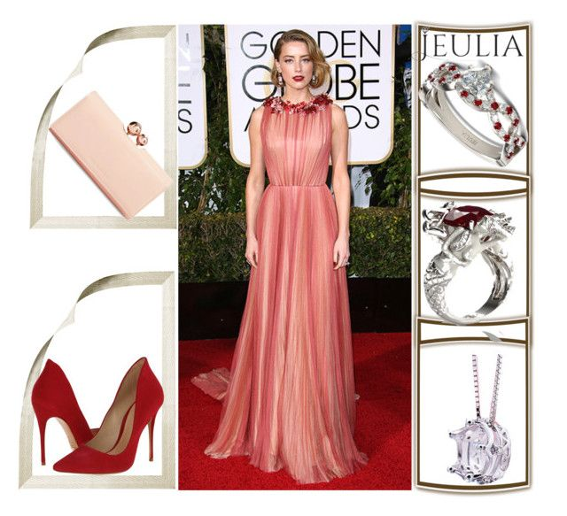 """""""Jeulia"""" by zijadaahmetovic ❤ liked on Polyvore featuring Schutz, Ted Baker, women's clothing, women's fashion, women, female, woman, misses, juniors and jewelry"""