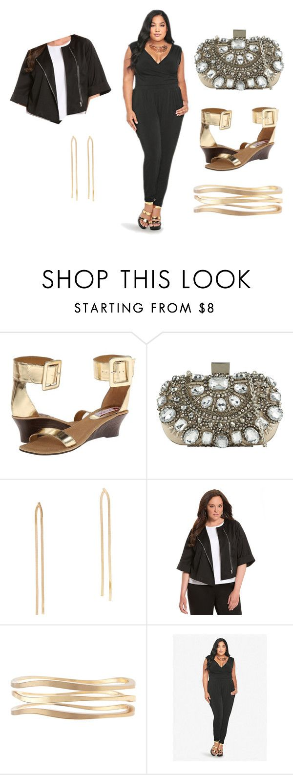 """SDVegas"" by garnerstyle ❤ liked on Polyvore featuring Two Lips, ALDO and Lane Bryant"