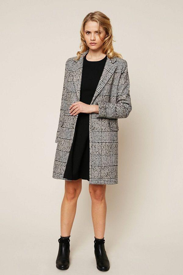 manteau femme prince de galles
