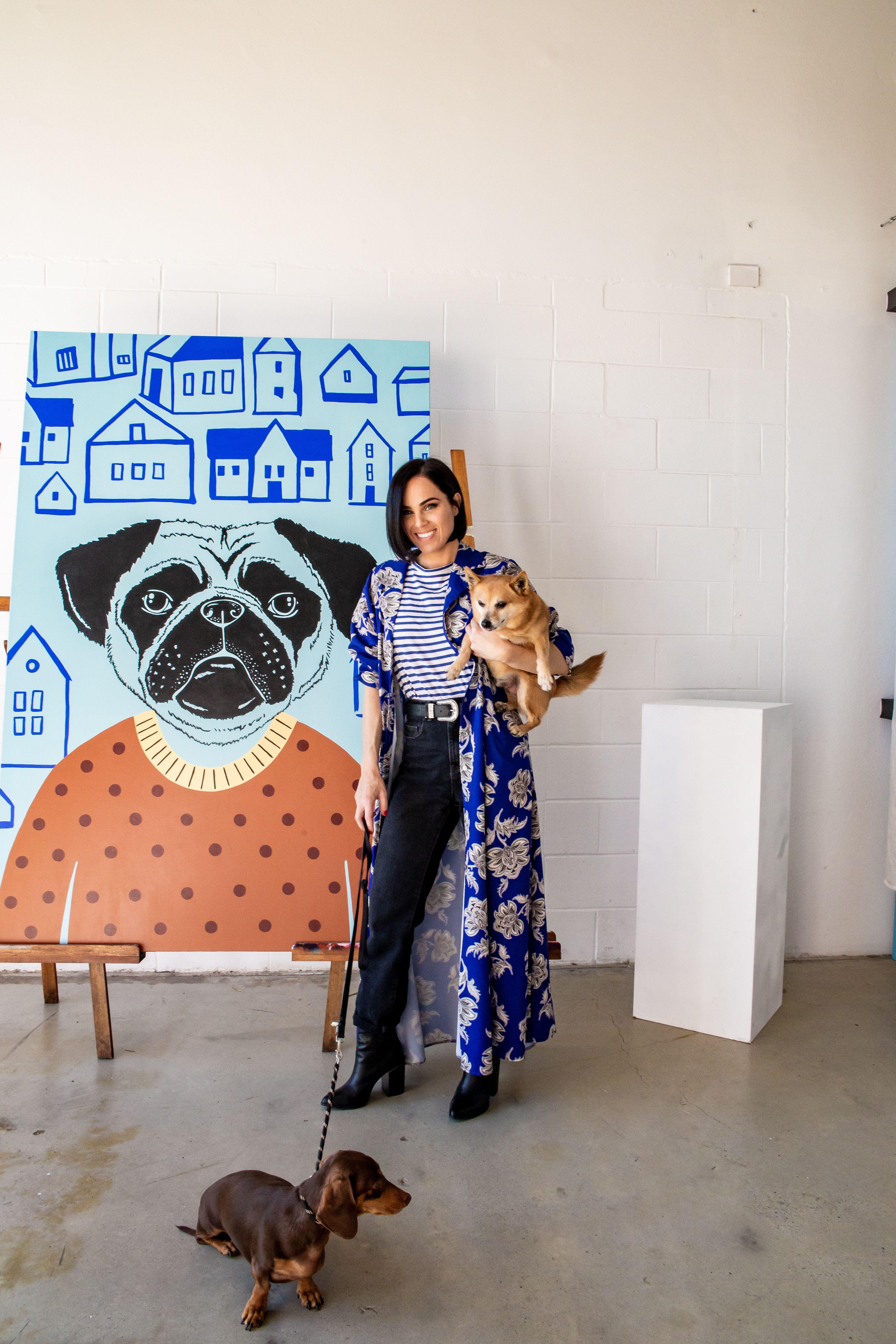Britty Em Forever Home Series Artist Ems Contemporary Artists