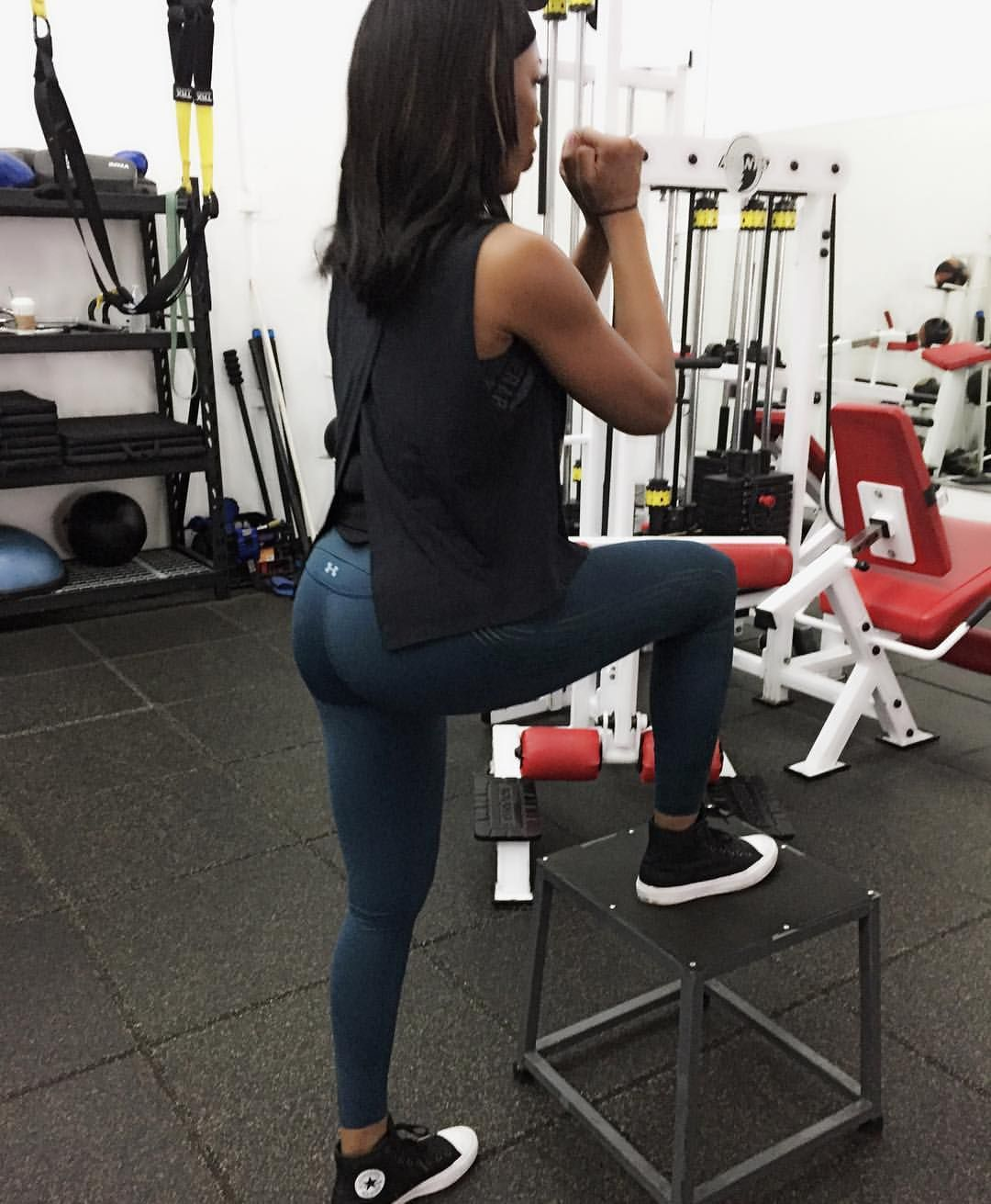 b141ffbc59d9 Pin by Chelle on Black Girls Do Workout