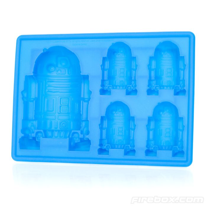 R2-D2 Silicone Mould...OOOOHHHH SUCKERS!!!