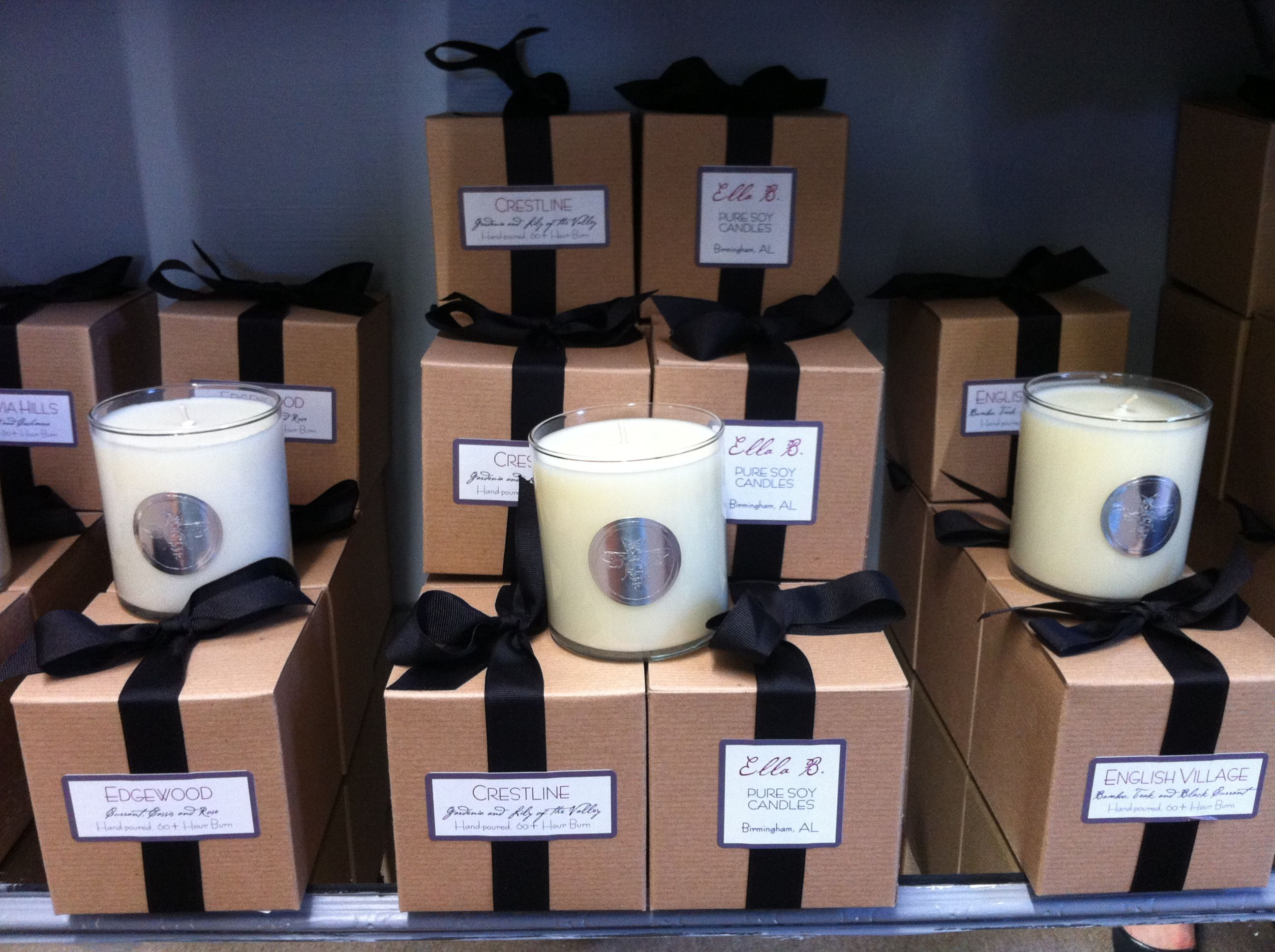 Candles by Ella B with scents named after Birmingham, AL neighborhoods #jlbshopsaveshare