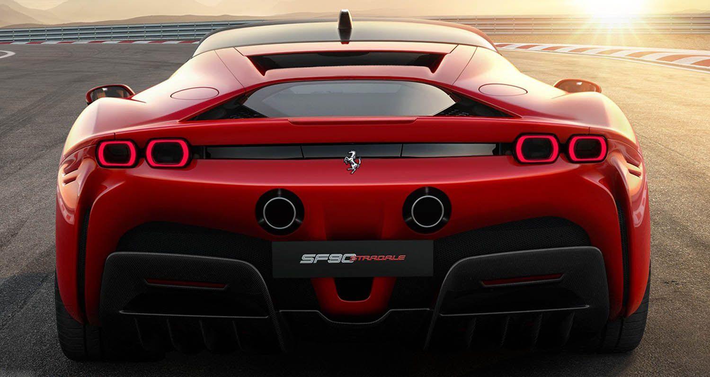فيراري أس أف 90 سترادالي 2020 الجديدة بالكامل القنبلة الجديدة من مارانيللو بقوة 1000 حصان جامح موقع ويلز Hybrid Sports Car New Ferrari Super Cars