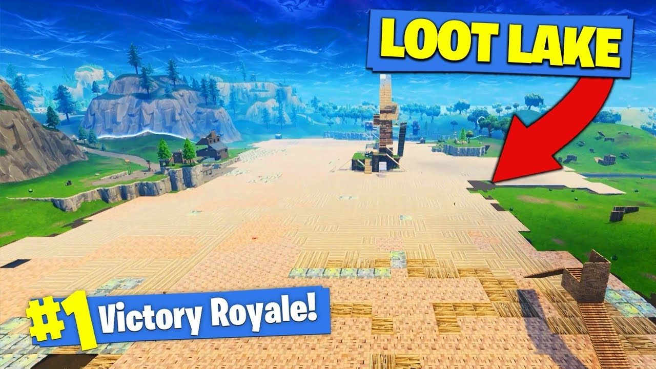 We Covered The Entire Loot Lake In Fortnite Battle