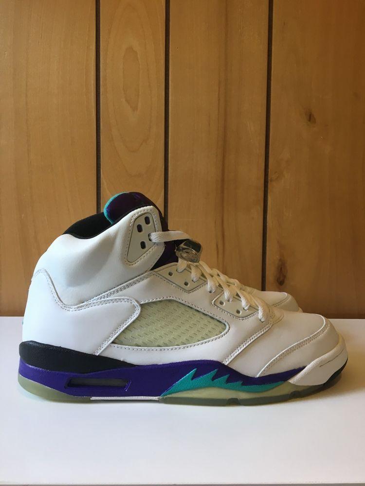 best website c9f0c 741ff Air Jordan 5 Retro LS Grape 2006 Size 10 100% AUTHENTIC   READ ITEM  DESCRIPTION  fashion  clothing  shoes  accessories  mensshoes   athleticshoes (ebay link)