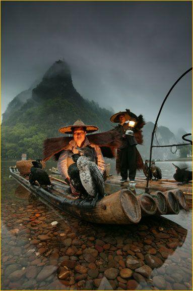 Night Fisherman by Art Wolfe | people photos | Pinterest ...