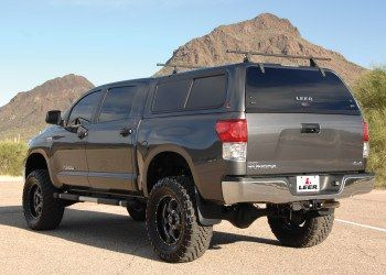 Leer 100XR Camper Shell for Trucks | Toyota Tundra Mods | Tundra