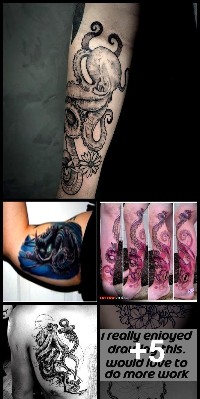Photo of Octopus Tattoo 120 – #