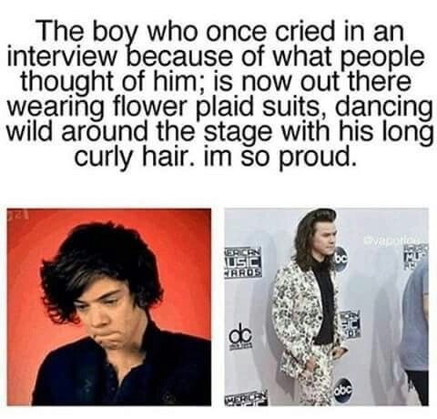 I am! We love you Harry Styles, no mater what, you'll always be my everything nothing will change that