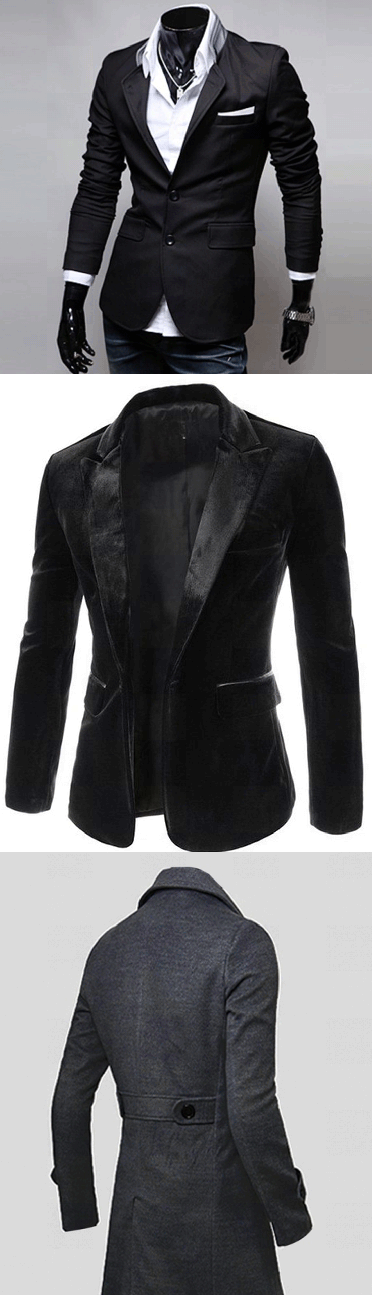 shop street goth blazers and coats for men at rebelsmarket
