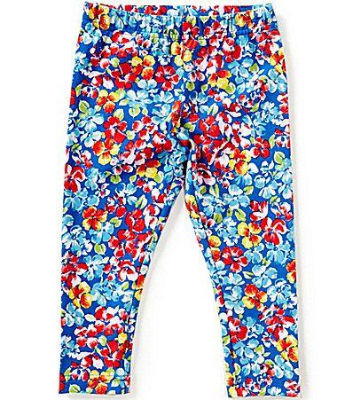 cbed1b979846 Ralph Lauren Childrenswear Little Girls 2T6X FloralPrinted Leggings # Dillards