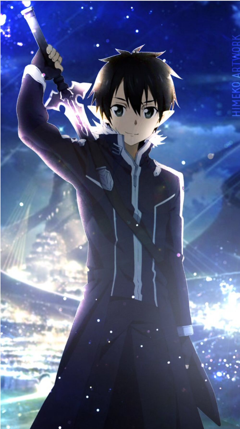 Pin By Slytherin Puppy On Sword Art Online Kirito Sword